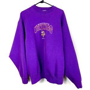 Other - Minnesota Vikings Vintage Purple Crewneck